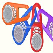 Colourful keychain style portable wireless outdoor speaker images