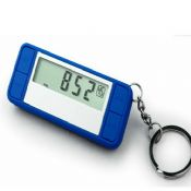 Mini Keychain 3d pedometer images
