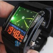 Fashion designed LED Analog and Digital Unisex Wrist Watch images