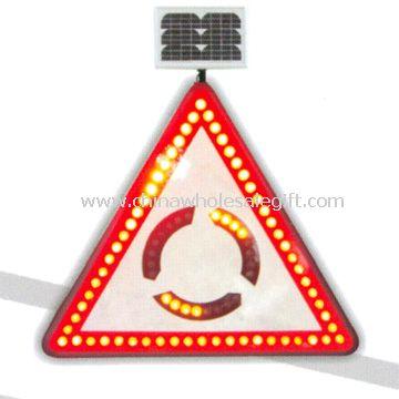 Solar traffic signal board