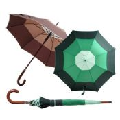 Wooden handle Umbrella images