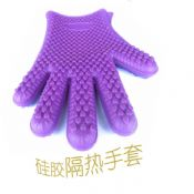 5 finger silicone kithen glove images