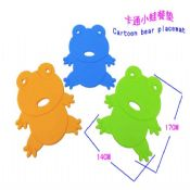 Frog shape silicone magnetic pot holder images