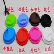 Silicone coffee cup lid images