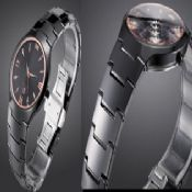 Black Elegant Ceramic Watch images