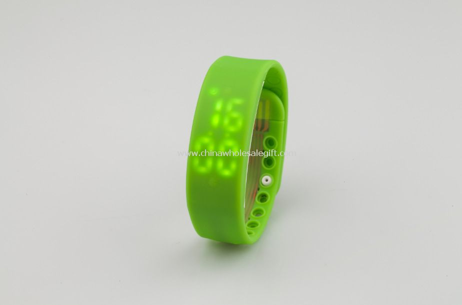 LED Watch USB Flash memória kibír vagy USB Flash Disk