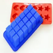 18 cubes silicone ice cube tray images