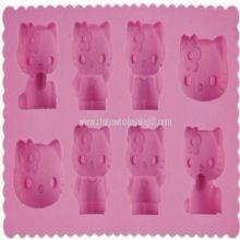 Cat shape silicone ice tray images