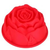 Rosed shaped silicone bakeware images