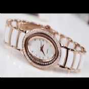 Fashion Ladys Crystal Watch images