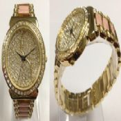 Full crystal dial watch images