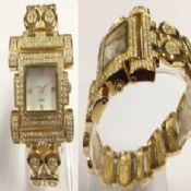 Gold diamond watch images