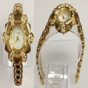 Gold flower watch images