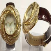 Heliciform crystal watch images