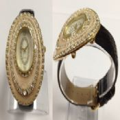 Oval Crystal Watch images