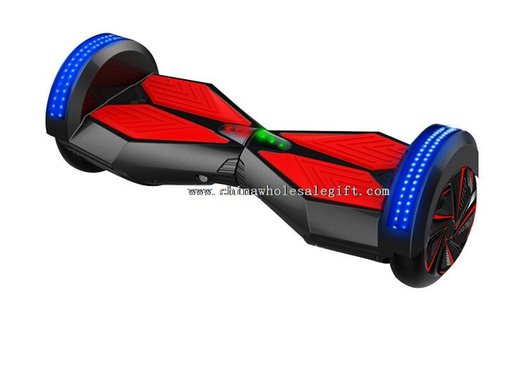Self Balancing single wheel electric scooter with LED