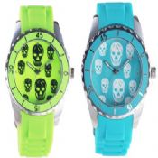 Skull silicon watch images
