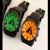 Unisex Big Case Silicon Watch images