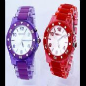 Transparent Plastic Watch images