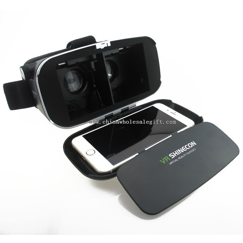 3d movies / 3d Games Movie VR box 3D glasses for 4.7 - 6.0 inch Phone