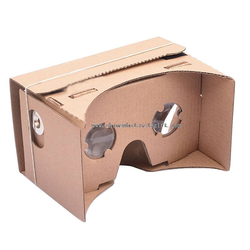 Cardboard 3d video glasses virtual reality vr box