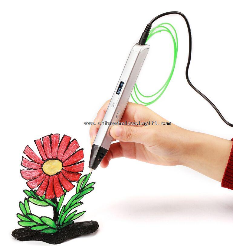 Stereoskopische 3D Druck Stift für 3D Zeichnung mit ABS Filament Material und Netzteil