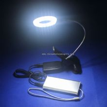 High lumens solar light battery powered LED clip light with magnifier light images