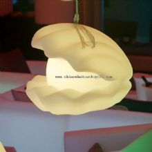 Rechargeable led desk pearl mussel lamp images