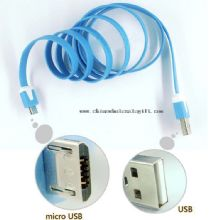 V8 Flat Noodle Micro USB to 2.0 USB Data Sync Charger data extension cable images