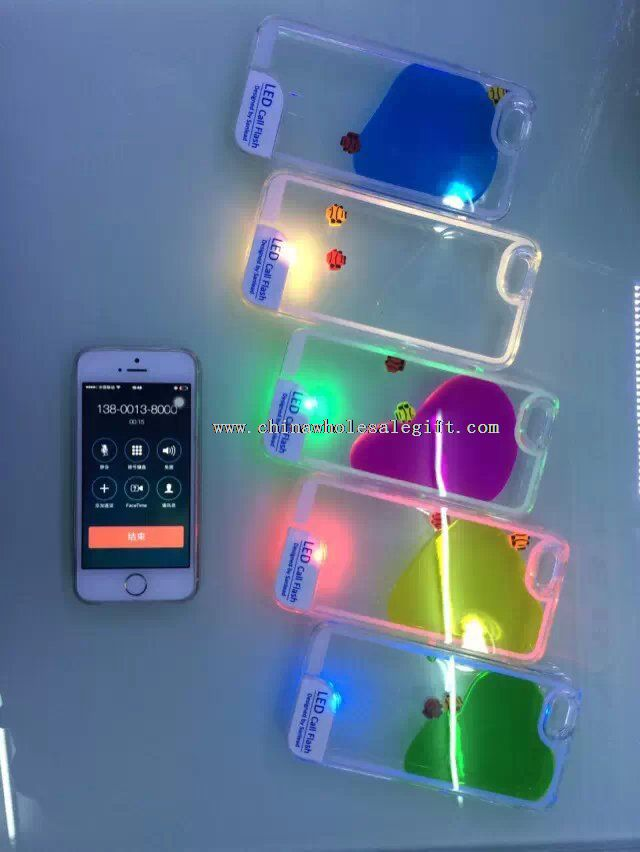 LED Flash Lighting mobile phone Case cover