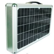 15W portable mini rechargeable home lighting solar power system images