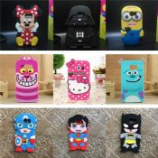 3D cute images silicone phone cases images