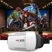 3D VR box Virtual Reality Video Game VR Glasses+Bluetooth Gamepad images