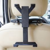 Car Backseat Headrest Mount Holder with Extension 360 Degrees images