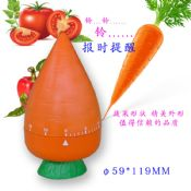 Carrot shape small countdown timer 60 minute images