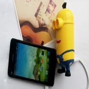 Cartoon promotion led 6600mAh power bank images