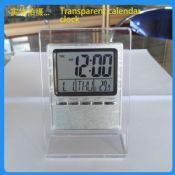 Desktop Electronic transparent ultra-thin calendar images