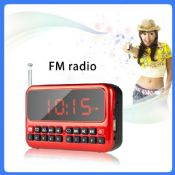 Digital Clock & Digital Radio with speaker images