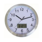 Digital wall clock thermometer images