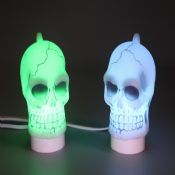 Halloween Decoration Skull LED Night Light images