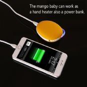 Hand warmer power bank 3500mah images