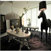 Horse animal lamp halfaway floor lamps images