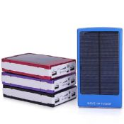 Large capacity solar power banks 20000mah power bank images