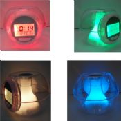 LED colorful Aromatherapy clock images