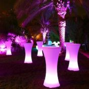Led furniture nightclub party decoration images