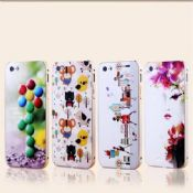 Metal colourful case for i phone covers images