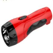Mini ABS plastic rechargeable led flashlight images
