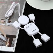 Mini Human ABS Usb Hub images