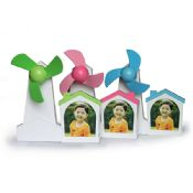 Mini usb fan with customized message images