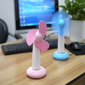 Novelty desktop small portable fans images